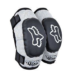 2013 Fox Pee Wee Titan Elbow Guards  - Sixsixone Peewee Defender 2.5 Roost Deflector - Clear