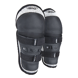 2014 Fox Pee Wee PW-1 Knee Guards  - 2013 Fox Youth Titan Sport Knee Guards