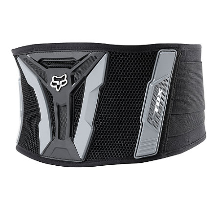 2014 Fox Youth Turbo Kidney Belt - Black  - Main