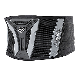 2014 Fox Youth Turbo Kidney Belt - Black  - 2013 Fox Youth Titan Sport Knee Guards