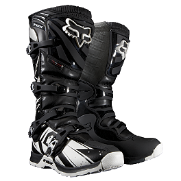2014 Fox Youth Comp 5 Boots - Undertow  - 2013 SixSixOne Youth Comp Boots