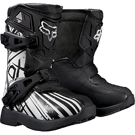 2014 Fox Youth Peewee 5K Boots - Undertow  - AXO Youth Drone Pee-Wee Boots