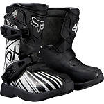 2014 Fox Youth Peewee 5K Boots - Undertow - Utility ATV Riding Gear