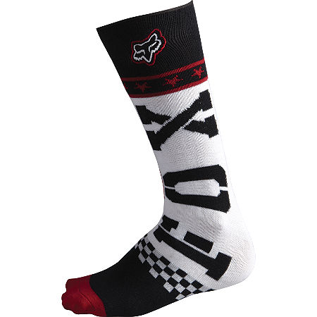 2013 Fox Youth Fri Socks - Rockstar - Main
