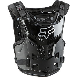 2014 Fox Youth Proframe Roost Deflector  - HRP Flak Jak LT-IMS Chest Protector - Peewee