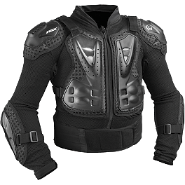 2014 Fox Youth Titan Sport Jacket  - 2013 Fly Racing Youth Barricade Long Sleeve Body Armor