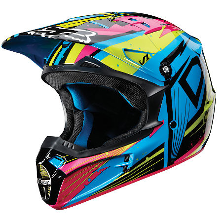 2012 Fox Youth V1 Helmet - Undertow - Main