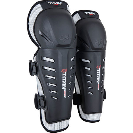 2013 Fox Youth Titan Race Knee / Shin Guards - Main