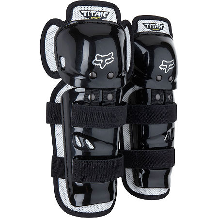2013 Fox Youth Titan Sport Knee / Shin Guards - Main