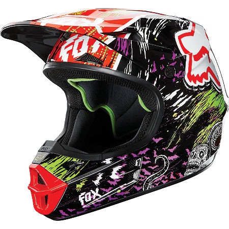 2013 Fox Youth V1 Helmet - Pestilence - Main
