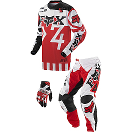 2014 Fox Youth 180 / HC Combo - Anthem - Factory Effex Chest Protector ID Kit