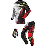 2014 Fox Peewee 180 / HC Combo - Radeon -  Dirt Bike Pants, Jersey, Glove Combos