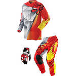 2014 Fox Youth 180 / HC Combo - Radeon Airline - Dirt Bike Pants, Jersey, Glove Combos