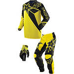 2014 Fox Youth 180 / HC Combo - Rockstar - Fox Utility ATV Pants, Jersey, Glove Combos