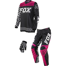2014 Fox Girl's Peewee 180 / HC Combo - Thor Child's Aftershock ID Panel