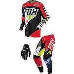2014 Fox Youth 360 Combo - Intake - Fox Dirt Bike Pants, Jersey, Glove Combos