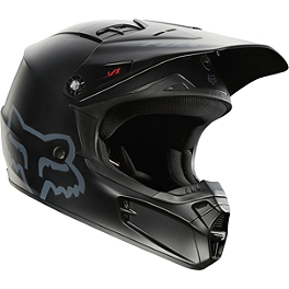 2014 Fox Youth V1 Helmet - Matte - Thor Scattershield ID Panel