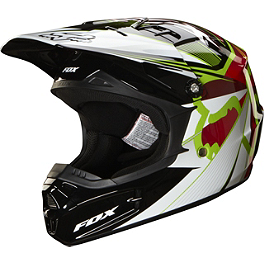 2014 Fox Youth V1 Helmet - Radeon - 2014 Fox Youth V1 Helmet - Creepin