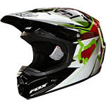 2014 Fox Youth V1 Helmet - Radeon - Fox Dirt Bike Riding Gear