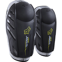 2014 Fox Youth Titan Sport Elbow Guards - 2013 MSR Youth Clash Deflector