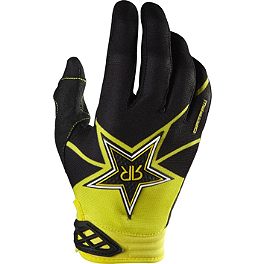 2014 Fox Youth Dirtpaw Gloves - Rockstar - 2014 MSR Youth Metal Mulisha Optic Gloves