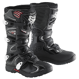 2014 Fox Youth Comp 5 Boots - Alpinestars Youth Tech-3S Boots