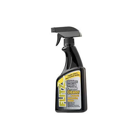 Flitz Chrome & Stainless Steel Cleaner - 16 oz - Main