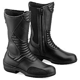 Gaerne Women's Black Rose Boots - TourMaster Women's Solution 2.0 Waterproof Road Boots