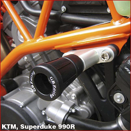 GB Racing No Mod Frame Slider Kit - 2007 KTM 990 Super Duke GB Racing No Mod Frame Slider Kit