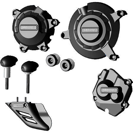 GB Racing Protection Bundle With Bullet Frame Sliders - Main