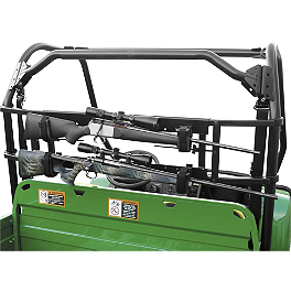 Great Day Universal Power Ride Gun Carrier - Great Day Mighty Light Deep Rear Aluminum Rack