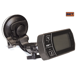 GET Suction Cup Mount For MD60 GPS Lap Timer - GET GPA Switch For GP1 Evo & GET Power Modules