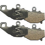Galfer Front/Rear Semi-Metallic Brake Pad Combo - Kawasaki KLX125 Dirt Bike Brakes