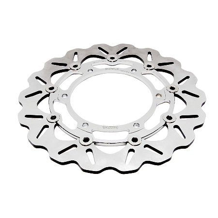Galfer Wave Brake Rotor - Front - Chrome - Main