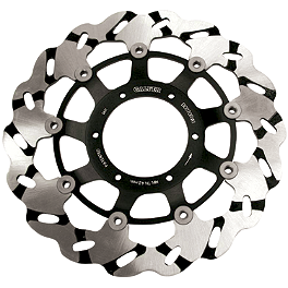 Galfer Front Super Bike Wave Rotors - 2006 Honda CBR600RR Galfer Wave Brake Rotor - Front - Chrome