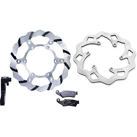 Galfer Tsunami Oversize Front Rotor And Rear Rotor Kit - Main