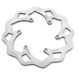 Galfer Standard Wave Brake Rotor - Front - 2008 Honda TRX450R (ELECTRIC START) Driven Sport Series Brake Rotor - Front