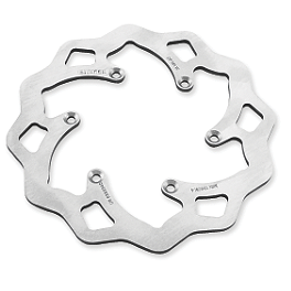Galfer Standard Wave Brake Rotor - Front - 2000 Honda CR500 Driven Sport Series Brake Rotor - Front