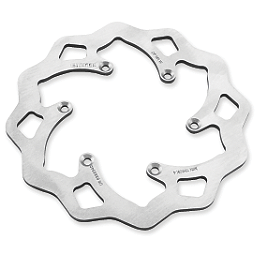 Galfer Standard Wave Brake Rotor - Front - 2012 Honda CRF150R Big Wheel Galfer Standard Wave Brake Rotor - Rear