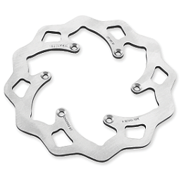 Galfer Standard Wave Brake Rotor - Rear - 2006 Honda TRX450R (KICK START) Blingstar Rotor Guard