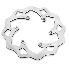 Galfer Standard Wave Brake Rotor - Rear - 2008 Honda CRF450R Hinson Billet Clutch Basket With Cushions