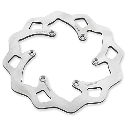 Galfer Standard Wave Brake Rotor - Rear - 2010 Yamaha YZ450F Hammerhead Pro Rear Brake Return Kit