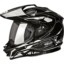 GMAX GM11D Dual Sport Helmet - Graphic - GMAX GM11D Replacement Shield