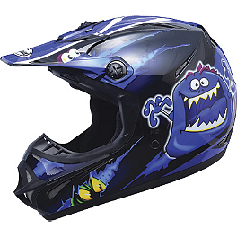 GMAX GM46Y Youth Helmet - Kritter II - GMAX Youth GM46Y-1 Helmet - Hot Rod