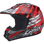 GMAX GM46Y Youth Helmet - Shredder - Dirt Bike Off Road Helmets