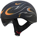 GMAX GM55 Helmet - Naked Flames - GMAX Helmets & Accessories