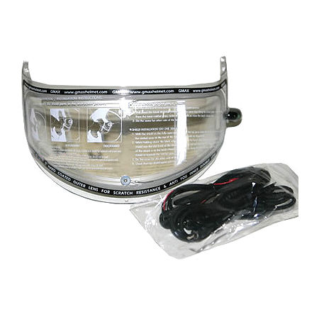 GMAX GM58/GM68 Dual Lens Electric Shield - Clear - Main