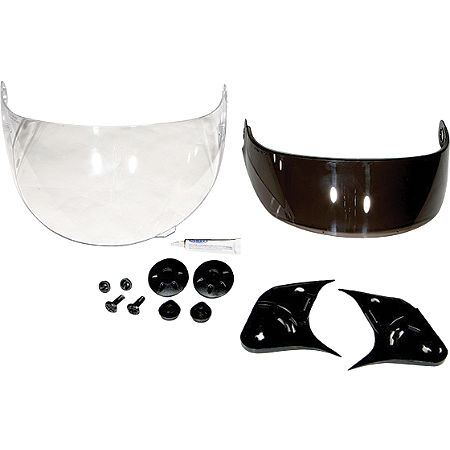GMAX GM58/GM68 Double Lens Flip Tint Sun Shield Conversion Kit - Main