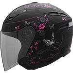 GMAX GM67 Helmet - Butterfly - GMAX Helmets Motorcycle Open Face