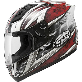 GMAX GM69 Full Face Helmet - Crusader II - GMAX GM48 Full Face Helmet - Shattered